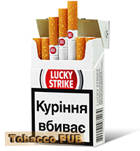Lucky Strike Luckies Silver