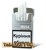 West Compact Silver Tobacco
